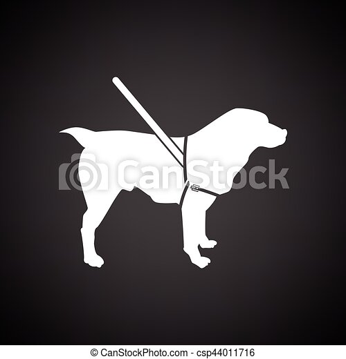 Guide dog icon - csp44011716