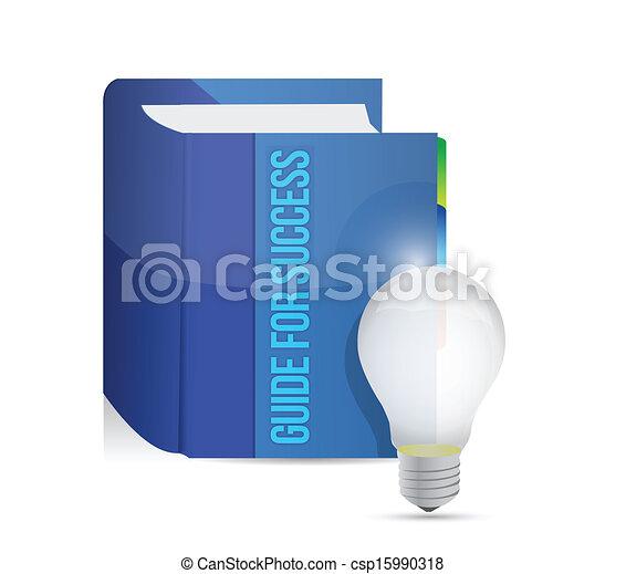 guide for success book illustration design - csp15990318