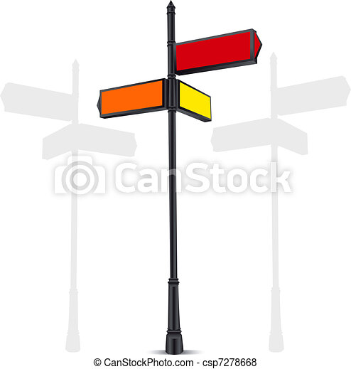 guide sign - csp7278668