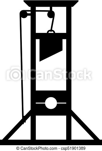 Guillotine, an ancient instrument for execution, shade ...   315 x 470 jpeg 16kB
