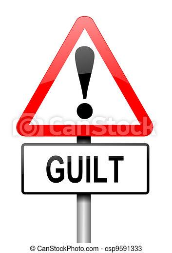 Guilt concept. - csp9591333