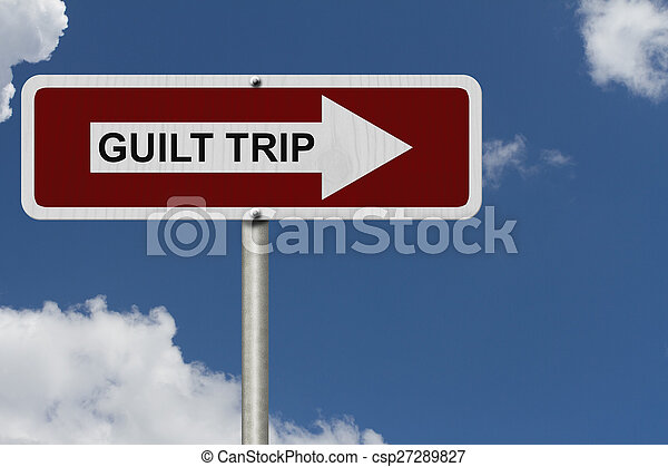 Guilt Trip this way - csp27289827