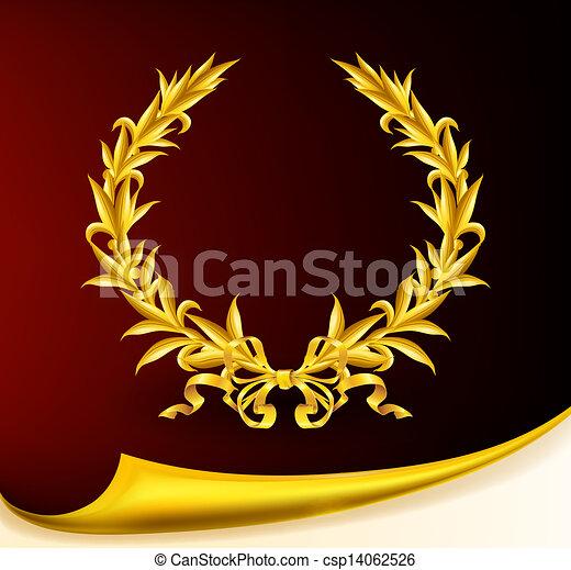 Rica corona dorada, Eps10 - csp14062526