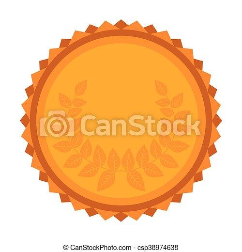 El icono de la corona de oro - csp38974638