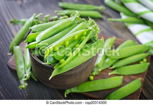 Guisantes verdes - csp20314300