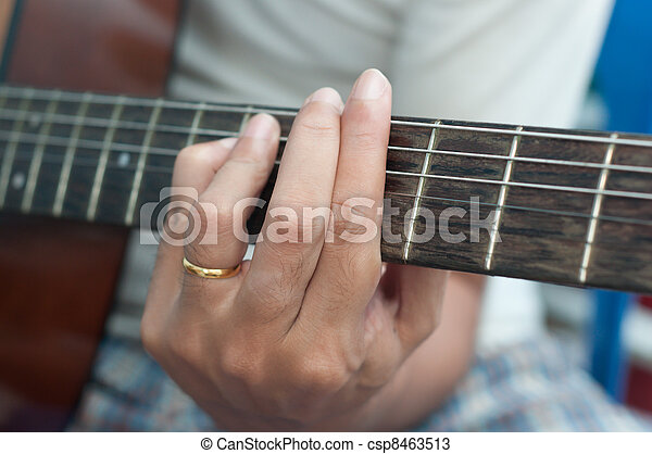 Guitar Chord Player Stock Photos Search Photographs And Clip Art