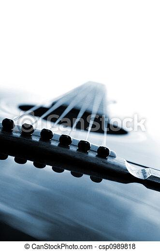 Guitar close up - csp0989818
