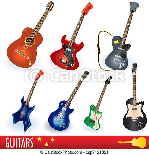 Guitar collection - csp7121821