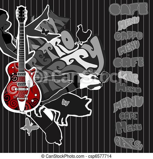 guitar - csp6577714