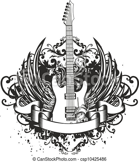 Le poisson roug 1 together with 11410882 Love The Music furthermore Briga De Branca De Neve Esta Boa as well Guitar With Wings Patterns 10425486 in addition Logo Design. on home music studio design
