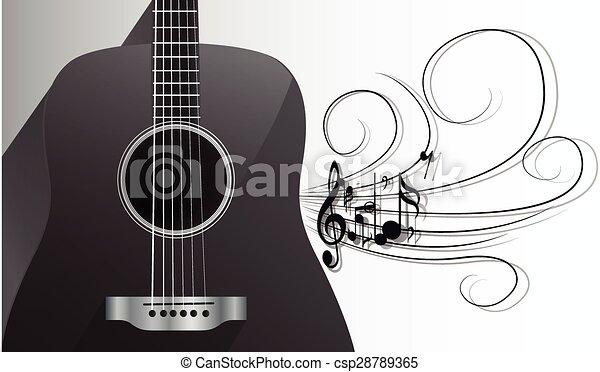 guitare acoustique melodie