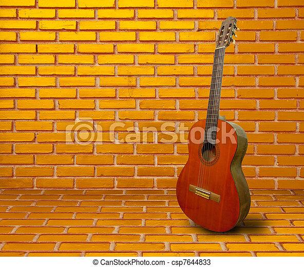 guitare, espagnol - csp7644833