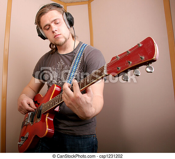 guitarist, スタジオ - csp1231202