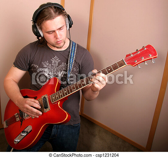 guitarist, スタジオ - csp1231204