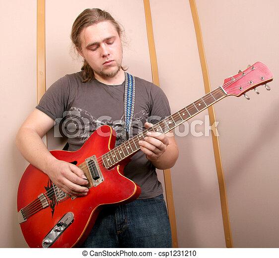 guitarist, スタジオ - csp1231210
