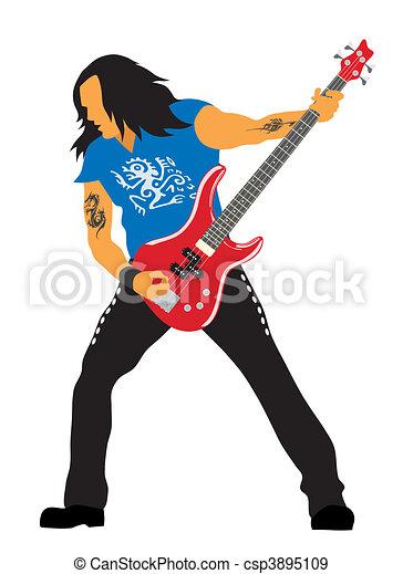 Guitarist - csp3895109