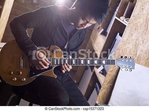Guitarist - csp15371223
