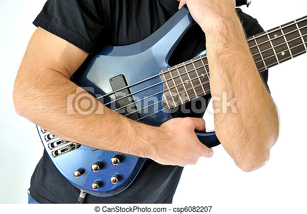 guitarra, baixo elétrico - csp6082207
