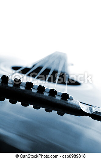 guitarra, cicatrizarse - csp0989818