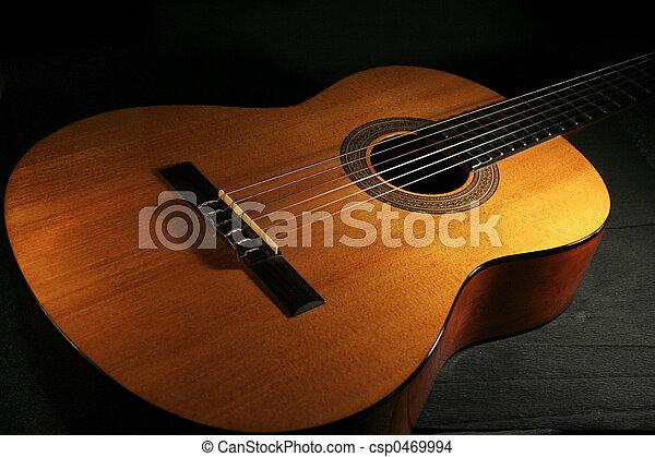 guitarra, clásico - csp0469994