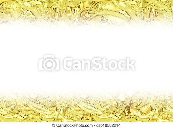 guld, glitter, struktur, bakgrund - csp18582214