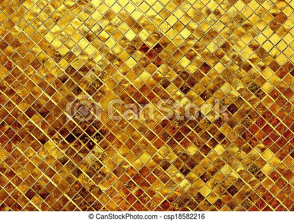guld, glitter, struktur, bakgrund - csp18582216