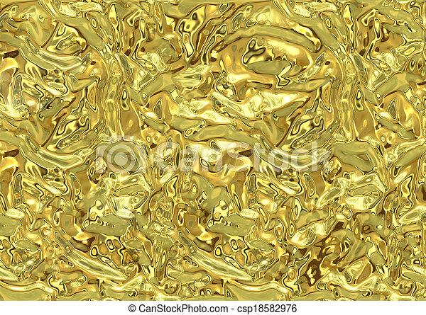 guld, glitter, struktur, bakgrund - csp18582976