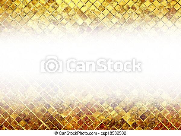 guld, glitter, struktur, bakgrund - csp18582502