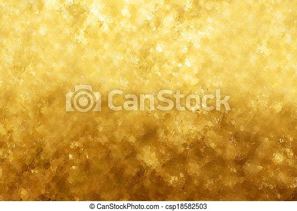 guld, glitter, struktur, bakgrund - csp18582503
