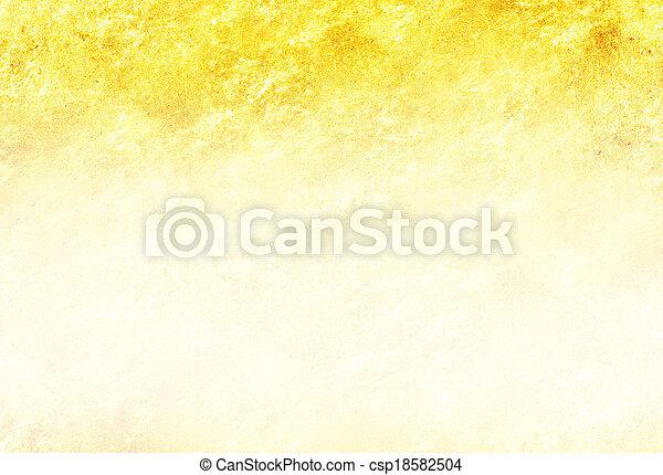 guld, glitter, struktur, bakgrund - csp18582504
