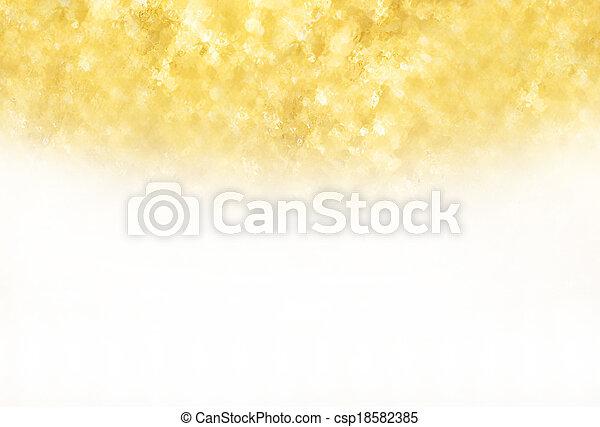 guld, glitter, struktur, bakgrund - csp18582385