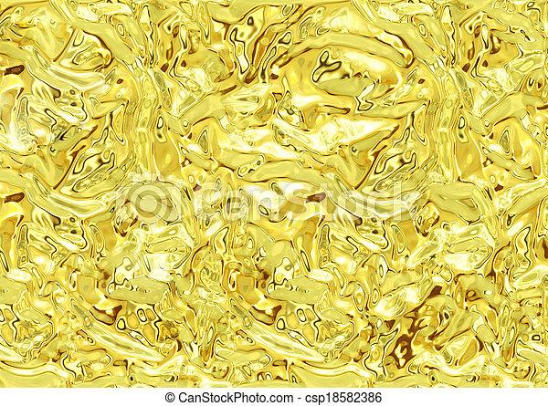 guld, glitter, struktur, bakgrund - csp18582386