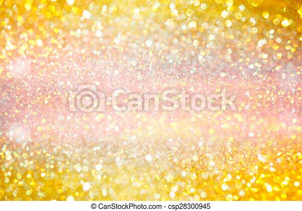 guld, glitter, struktur, bakgrund - csp28300945