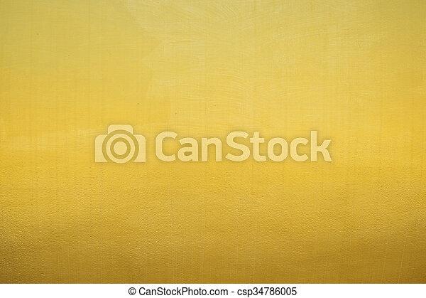 guldgul fond - csp34786005