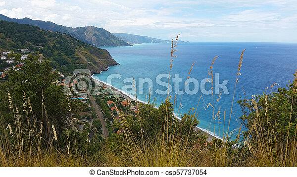 Gulf of Capo Calava at Sicily - csp57737054