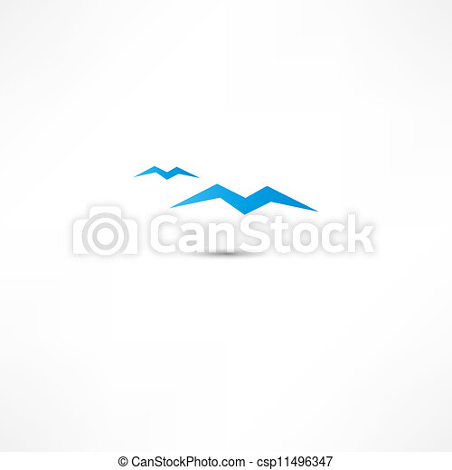 Gulls Icon - csp11496347