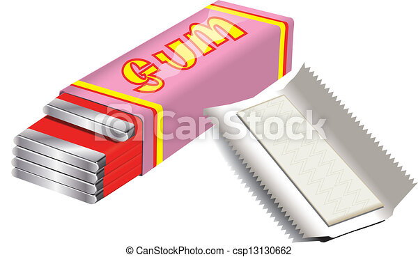 gum rh canstockphoto com gumdrops clipart gum clipart black and white