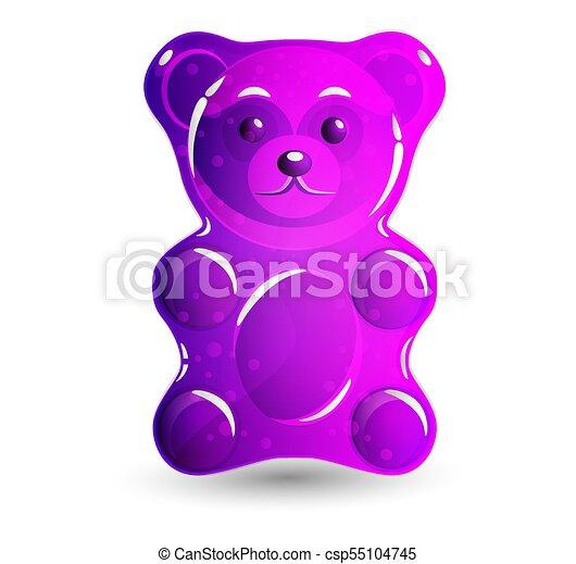gummy bear pink