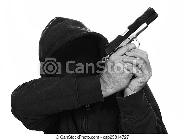Gun Crime - csp25814727
