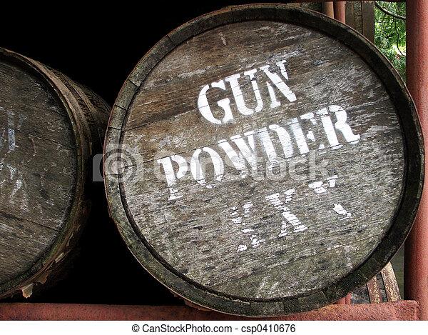 Gun Powder Barrel - csp0410676