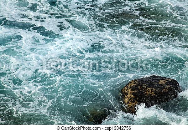 Gushing Sea - csp13342756