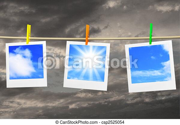 Traum von gutem Wetter - csp2525054
