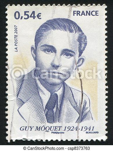 Guy Moquet - csp8373763