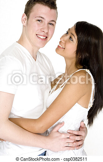 Guy With His Girl - csp0382511