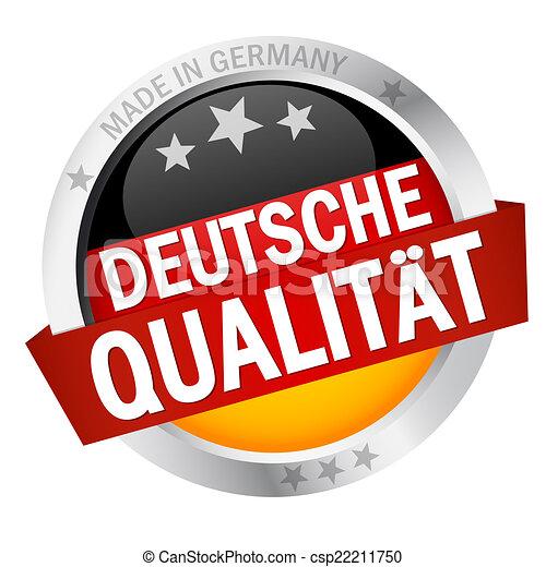 guzik, chorągiew, deutsche, qualität - csp22211750