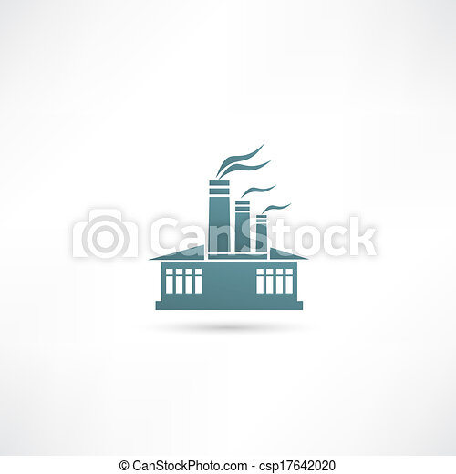 gyár, ikon - csp17642020