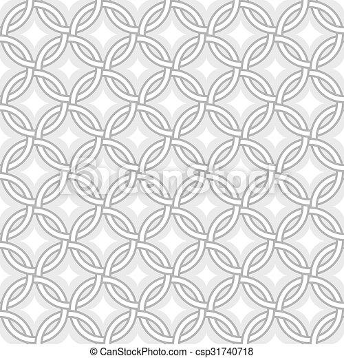 gyémánt, -, motívum, csillaggal díszít, karikák, retro, megvonalaz - csp31740718
