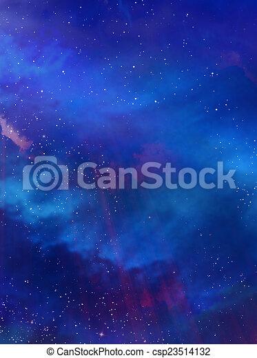 gyönyörű, ég, háttér - csp23514132
