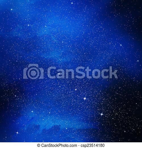 gyönyörű, ég, háttér - csp23514180