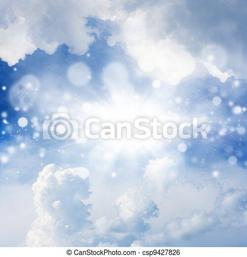 gyönyörű, ég - csp9427826